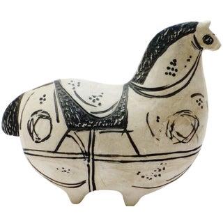 Stig Lindberg Swedish Ceramic Horse