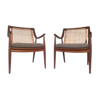 Peter Hvidt Danish Modern Teak Chairs - A Pair