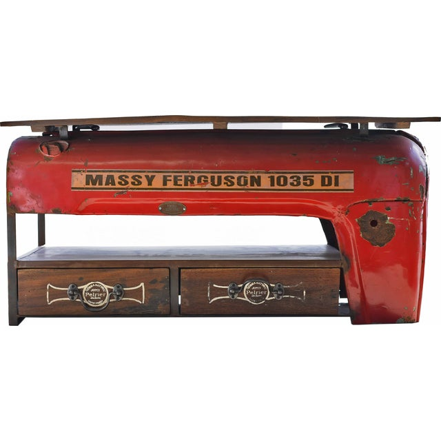 Vintage Tractor Coffee Table - Image 1 of 4