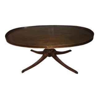 Vintage Mahogany Coffee Table Mersman #7167