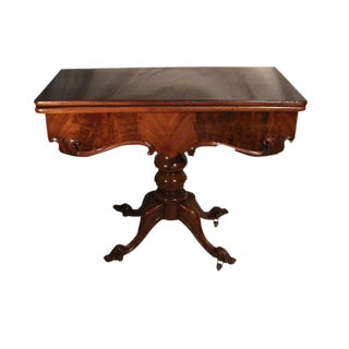 Antique Portuguese Game Table