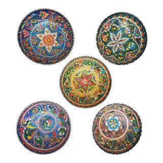 Turkish Anatolian Bowls - Set of 5