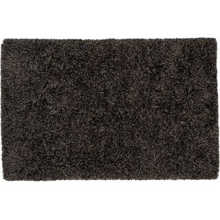 Gray Shag Area Rug - 5' x 8'