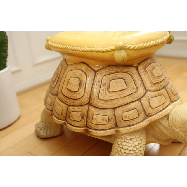 1960s Vintage Turtle Garden Seat - Image 4 of 9