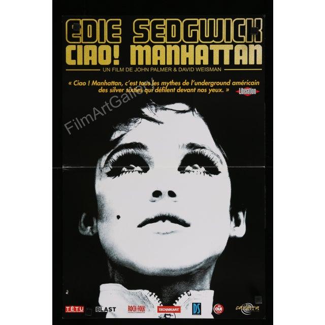 "Edie Sedgwick ""Ciao! Manhattan"" film poster - Image 1 of 2"