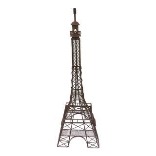 Metal Eiffel Tower Garden Statuary