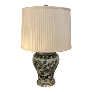 Porcelain Asian Vase Lamp