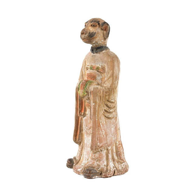 Antique Chinese Zodiac Dog Figurine - Image 2 of 9