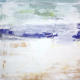 Paul Ashby Abstract Coastal Landscape Painting