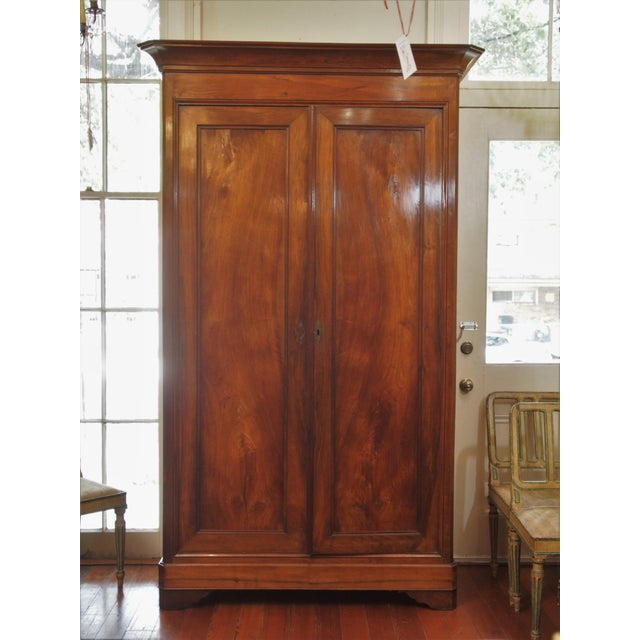 incredible louis philippe style armoire decaso. Black Bedroom Furniture Sets. Home Design Ideas