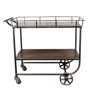Industrial Cart / Bar Cart