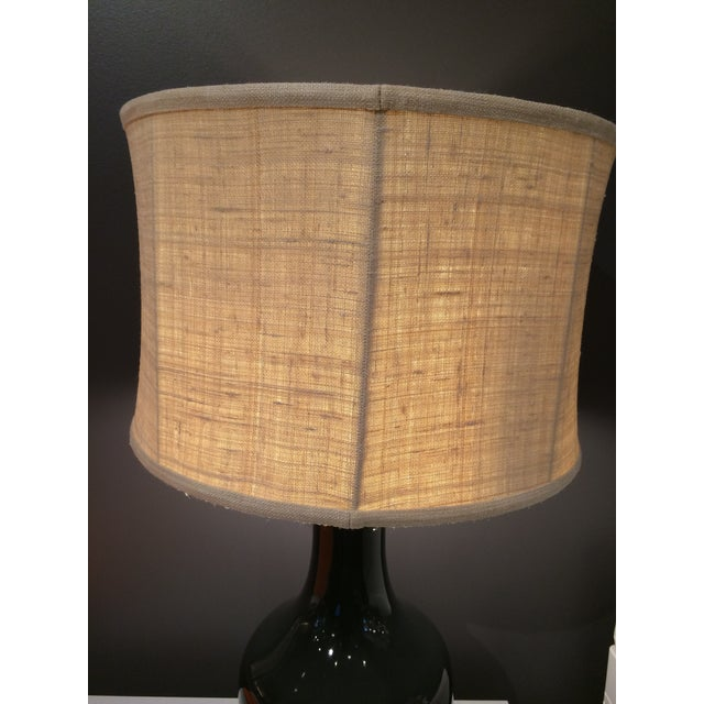 Barbara Cosgrove Gray Table Lamps - A Pair - Image 5 of 6