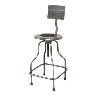 Precision Barstool With Backrest