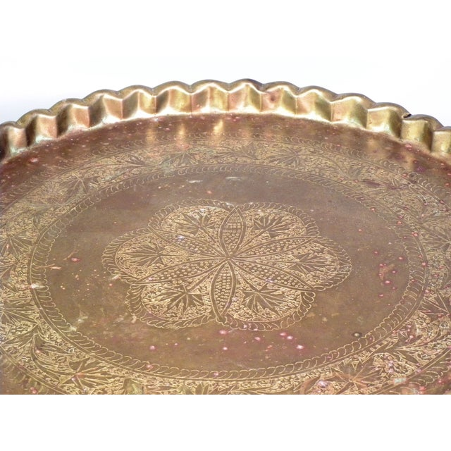 Image of Mid Century Modern Moroccan Folding Tea Table