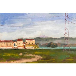 San Quentin Prison Painting