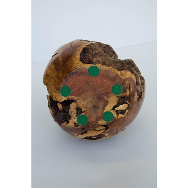Image of Turned Burl Wood Vase