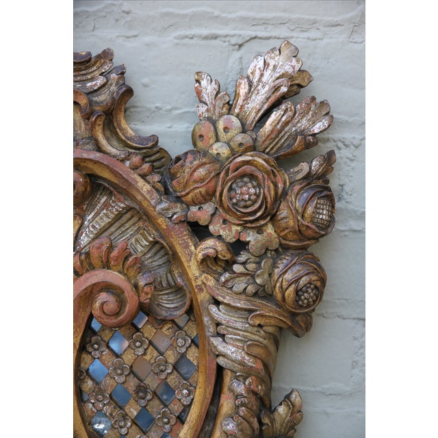 Italian Baroque Style Mirrors - A Pair - Image 5 of 9