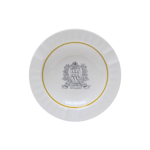 Ristorante San Marino Porcelain Ashtray - Image 1 of 6