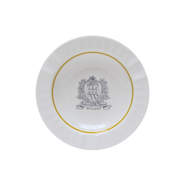 Image of Ristorante San Marino Porcelain Ashtray