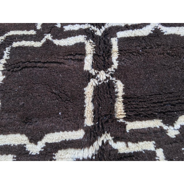 Moroccan Middle Atlas Mountains Wool Area Rug