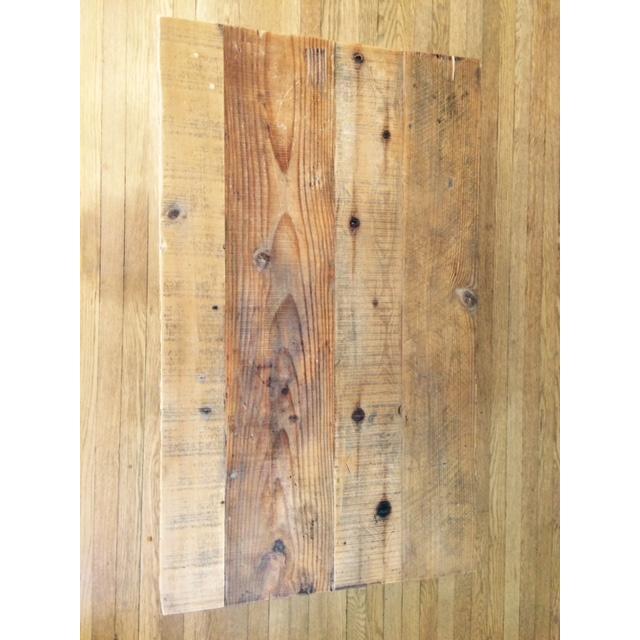 Arhaus Wooden Coffee Table - Image 9 of 9