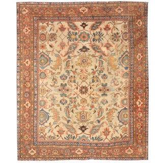 Antique 19th Century Persian Sultanabad Carpet