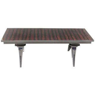 French Art Deco Macassar Ebony Coffee Table