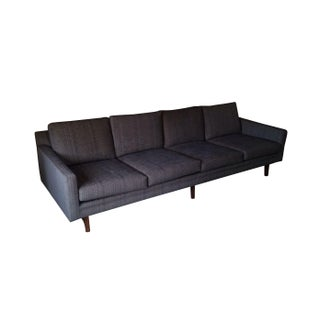 Adrian Pearsall Mid-Century Style Sofa in Gray