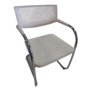 White Vitra Visasoft Visavis 2 Chair