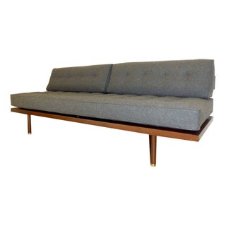 Harvey Probber Brass & Mahogany Daybed C. 1957