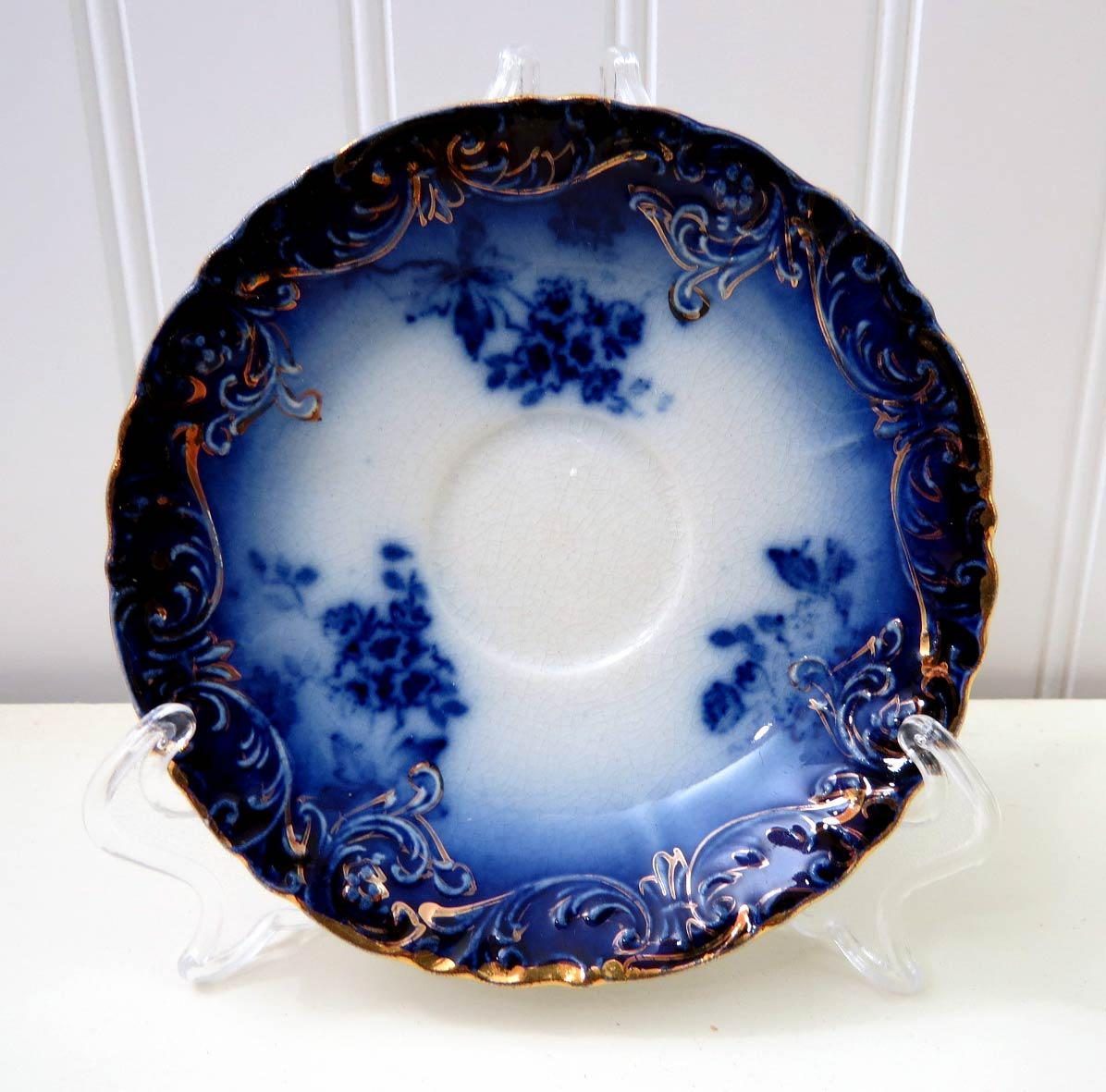 Blue And White Plates traditional blue & white plates - set of 6 | chairish