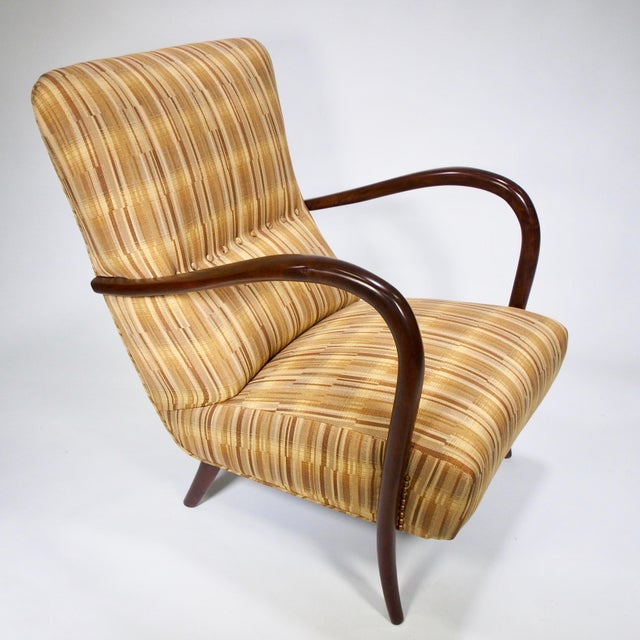 Italian Mid-Century High Back Chairs - A Pair - Image 4 of 10
