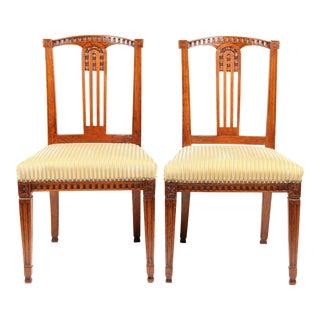 C. 1780 Georgian Dutch Chairs - A Pair