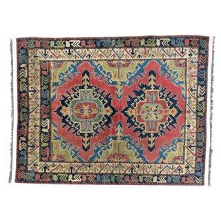 "Leon Banilivi Kazak Wool Handmade Rug - 5' X 6'2"""
