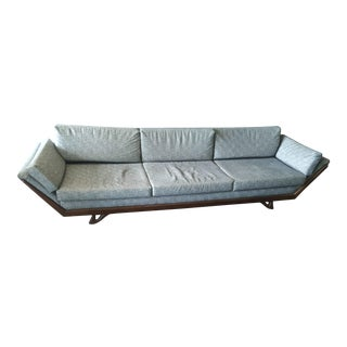 10-Foot-Long Mid-Century Modern Adrian Pearsall Sofa