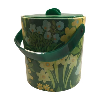 Retro Floral Ice Bucket
