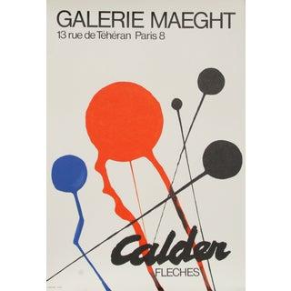 Alexander Calder, Galerie Maeght (Fleches), Poster