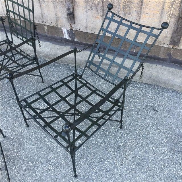 Mario Papperzini Salterini Lounge Chairs - Pair - Image 6 of 8