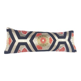 Vintage Japanese Obi Pillow