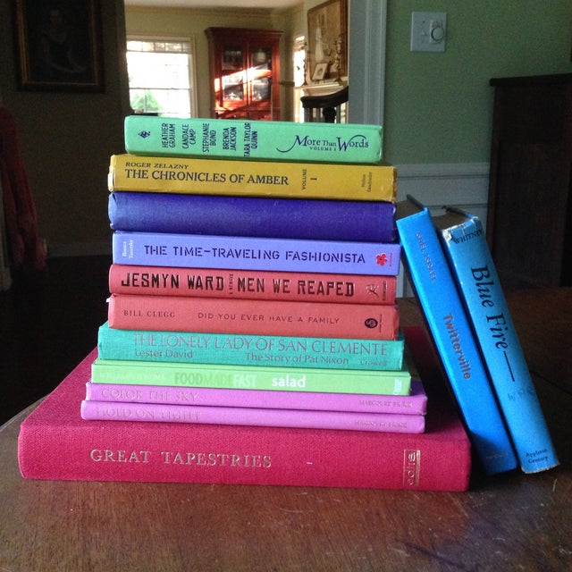 Brightly Colored Decorative Books - Set of 13 - Image 2 of 11