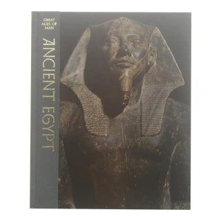 Vintage 1977 Ancient Egypt History Cultural Arts Hardcover Book