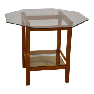 Teak & Glass Dinette Table
