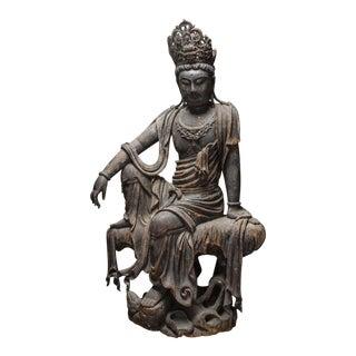 Wooden Sculpture of the Bodhisattva Guanyin