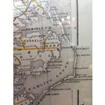Image of 1891 Railroad & County Map of N.C.