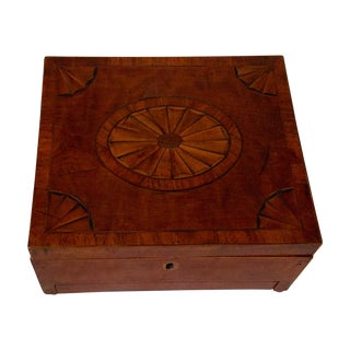 George III Period Sheridan Inlaid Box
