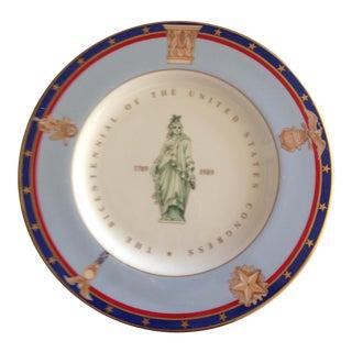 Tiffany & Co. US Congress Bicentennial Plate