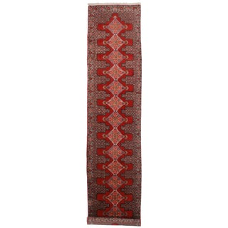 Antique Persian Seneh Rug - 2′10″ × 12′7″