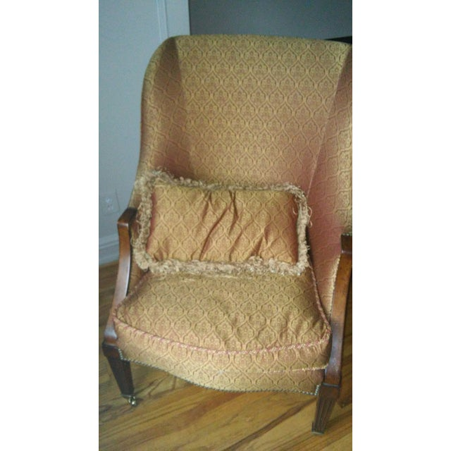 Image of Drexel/Lillian August Tight Back Chair with Pillow