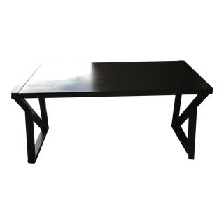 Modern Espresso Wood Desk