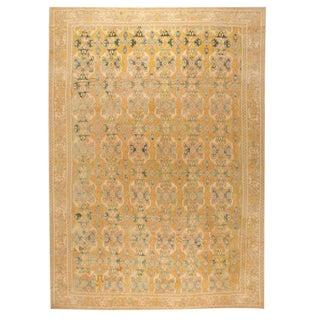 Antique Oversize 17th Century Spanish Cuenca Carpet